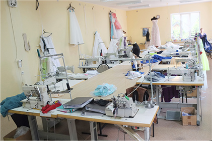 seamstress workroom